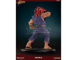 POP CULTURE SHOCK COLLECTIBLES STREET FIGHTER AKUMA 10TH ANNIVERSARY ST STATUA