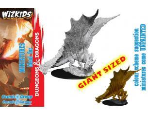 WIZKIDS D&D NOLZUR MUM YOUNG GOLD DRAGON Miniature e Modellismo