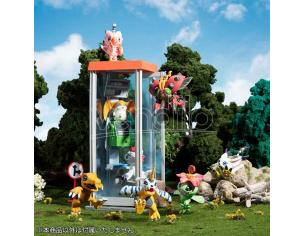 MEGAHOUSE DIGIMON ADVENTURE DIGICOLLE MIX (8) MINI FIGURA