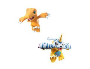 Digimon Adventure Set 8 Mini Pezzi Digicolle Mix Figure 5 cm Megahouse