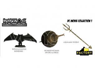 Factory Entertainment KUZOS DC MOVIE REPLICA (SET 3 PCS) REPLICA