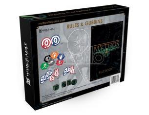 WARCRADLE STUDIOS MYTHOS RULES & GUBBINS BOX WARGAME