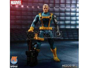 MEZCO TOYS ONE 12 COLL MARVEL PX CABLE X-MEN ED AF ACTION FIGURE