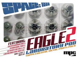 Mpc Space 1999 Eagle Supplemental Metallo Part Accessori