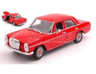 WELLY WE24091R MERCEDES 220 (W115) RED 1:24 Modellino