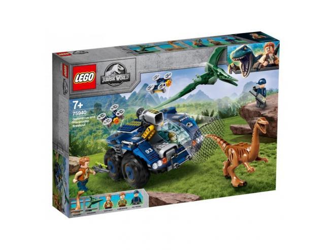 LEGO JURASSIC WORLD 75940 - EVASIONE DI GALLIMIMUS E PTERANODONTE