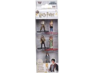 Harry Potter  Jada - Confezione Da 5 Action Figure In Metallo Di  4 Cm