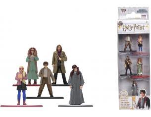 Harry Potter Jada - Confezione Da 5 Action Figura In Metallolo Di 4 Cm