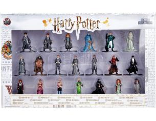 Jada - Confezione da 20 Action Figure in metallo di Harry Potter 4 cm