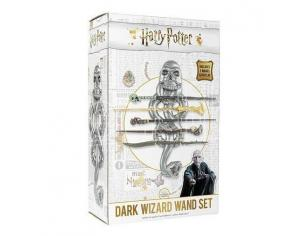 Porta Bacchetta a 5 Posti con Il  Marchio Nero Harry Potter Noble Collection