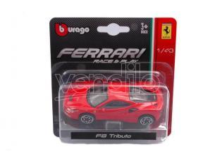 BBURAGO BU36054R FERRARI F8 TRIBUTO 2019 1:43 Modellino