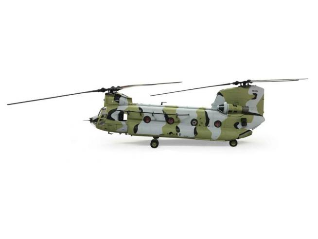 FORCES OF VALOR FOR821004E BOEING CHINOOK CH-47D REPUBLIC OF KOREA ARMY CAMOUFLAGE 1:72 Modellino