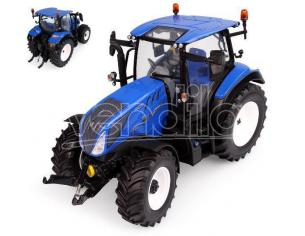UNIVERSAL HOBBIES UH6222 TRATTORE NEW HOLLAND T5.130 LOW ROOF HIGH VISIBILITY 1:32 Modellino