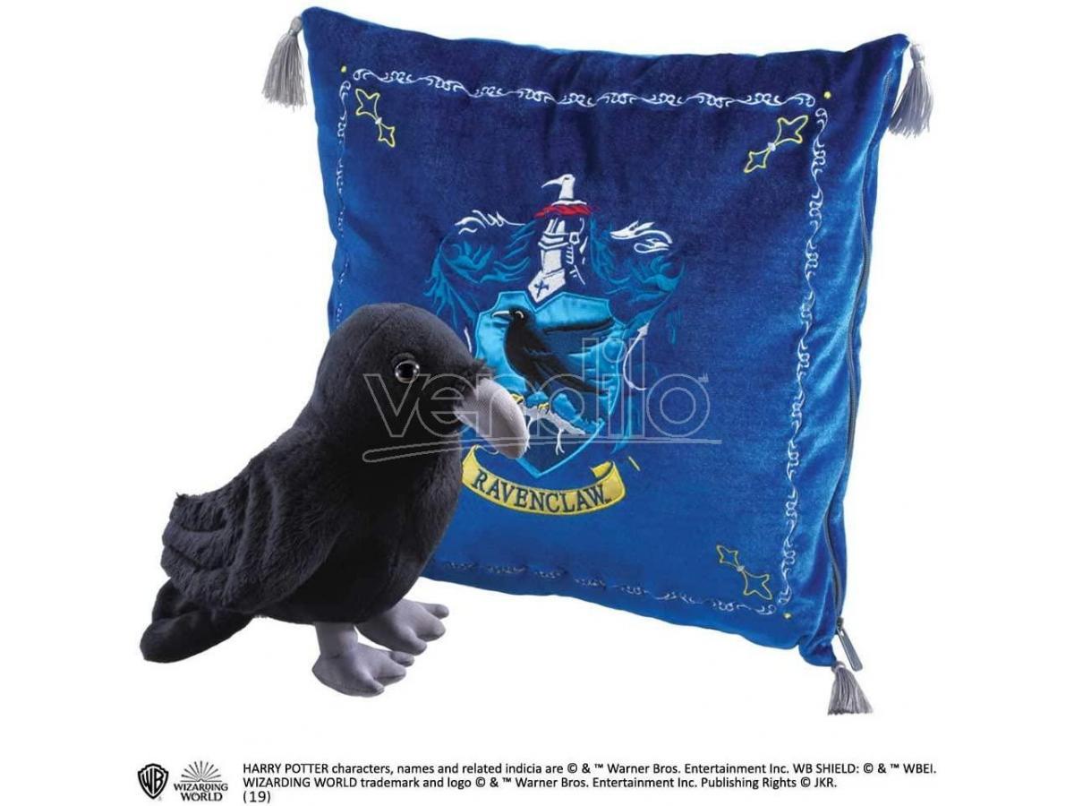 Harry Potter - Peluche e cuscino di Corvonero Noble Collection