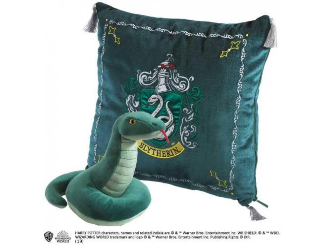 Harry Potter - Peluche E Cuscino Di Serpeverde Noble Collection