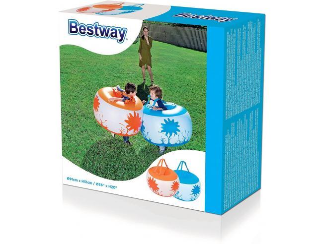Gonfiabile Sumo per Bambini 2 Pezzi per Scatola 91 x 51 cm Bestway 52222