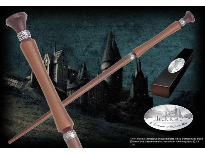 Harry Potter  Bacchetta Magica Pius Thicknesse  Character Noble Collection