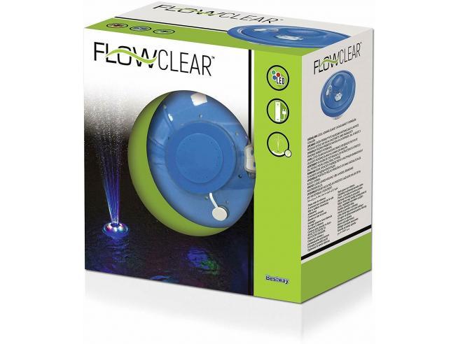 Fontana per Piscina con Luci Led Flowclear Bestway 58493