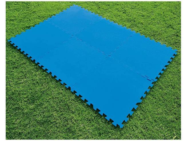 Tappeto Base di Protezione Piscina 50 x 50 cm 9 Fogli a Conf. Bestway 58220