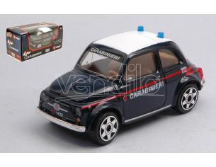 BBURAGO BU30310FT FIAT 500 CARABINIERI 1:43 Modellino
