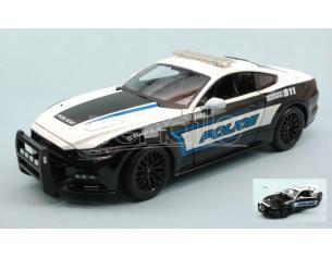 MAISTO MI31397 FORD MUSTANG GT POLICE USA 1:18 Modellino