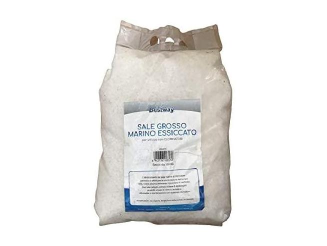 Sale Marino Grosso Essiccato per Clorinatori Piscina Sacco 10 Kg Bestway 58372