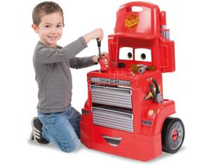 Banco da Lavoro Mack Truck Trolley con Accessori Cars 3 Smoby 7600360208