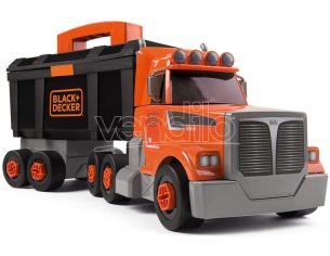 Black + Decker Bricolo Camion con Cassetta Attrezzi da Lavoro Smoby 7600360175