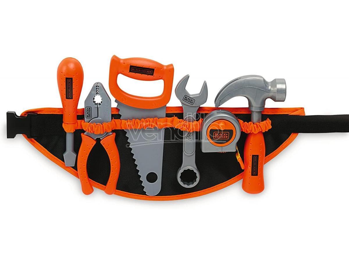Black + Decker Cintura degli Attrezzi Smoby 7600360107