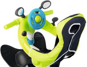 Triciclo Baby Driver Confort Verde e Blu da 10 Mesi Smoby 7600741200