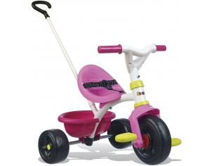 Triciclo Be Fun Bambina Verde e Rosa da 15 Mesi Smoby 7600740322