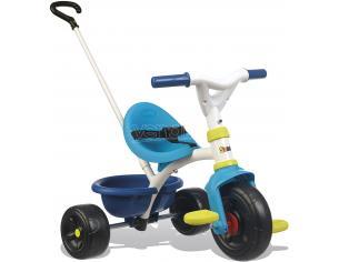 Triciclo Be Fun Bambino Blu e Verde da 15 Mesi Smoby 7600740323