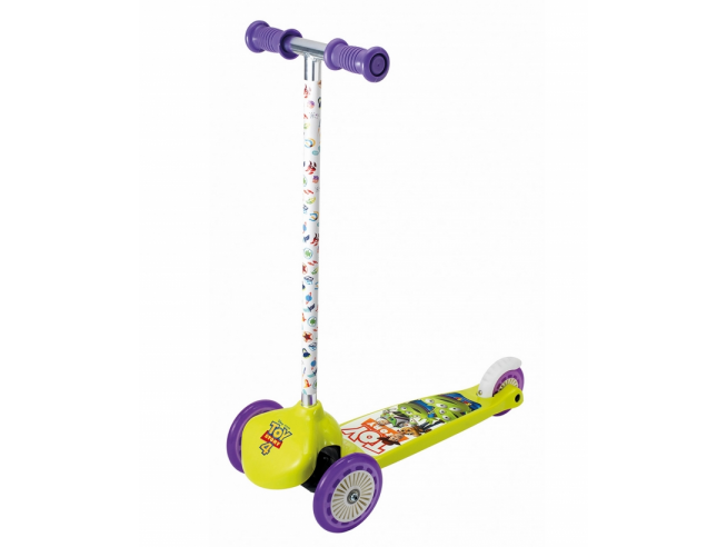 Monopattino Tre Ruote Twist Toy Story 4 da 3 Anni Smoby 7600750226