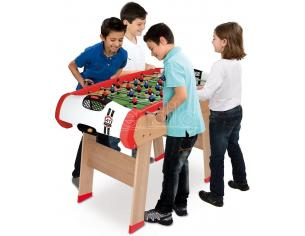 Calcetto, Ping Pong, Hockey e Biliardo Multigioco 4 in 1 120 cm Smoby 7600640001