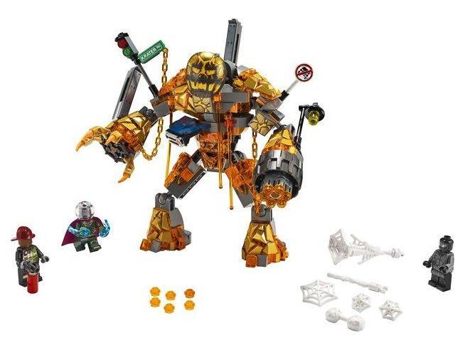 LEGO MARVEL SUPER HEROES 76128 - SPIDER-MAN : LA BATTAGLIA DI MATTLE