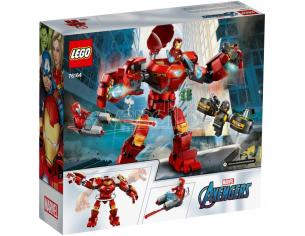 Lego Super Heroes 76164 - Iron Man Hulkbustoer Vs A.i.m Agent
