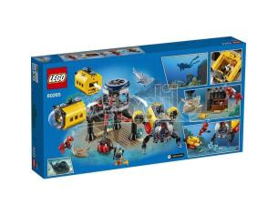 LEGO CITY 60265 - BASE PER ESPLORAZIONI OCEANICHE