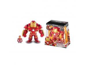JADA TOYS 2 Personaggi Iron Man con Armatura Hulkbuster 15 e 3 cm Die Cast