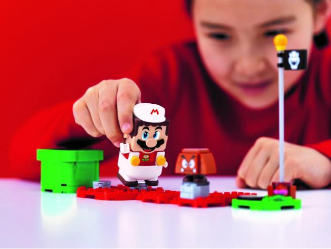 LEGO SUPER MARIO 71370 - MARIO FUCO TRASFORMABILE