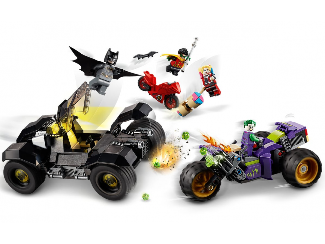 LEGO BATMAN MOVIE 76159 - ALL'INSEGUIMENTO DEL TRE RUOTE DI JOKER