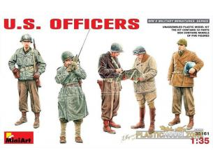 MINIART MIN35161 U.S. OFFICERS KIT 1:35 Modellino
