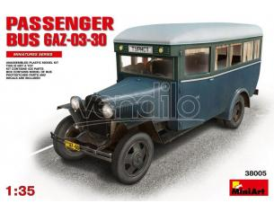 MINIART MIN38005 PASSENGER BUS GAZ 03-30 KIT 1:35 Modellino