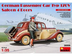 MINIART MIN38008 GERMAN PASSENGER CAR TYP 170V KIT 1:35 Modellino