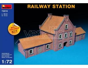 MINIART MIN72015 RAILWAY STATION KIT 1:72 Modellino