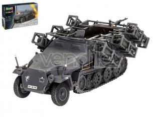 REVELL RV03324 SD KFZ 251/1 AUSF.C + WURFR.30 KIT 1:72 Modellino