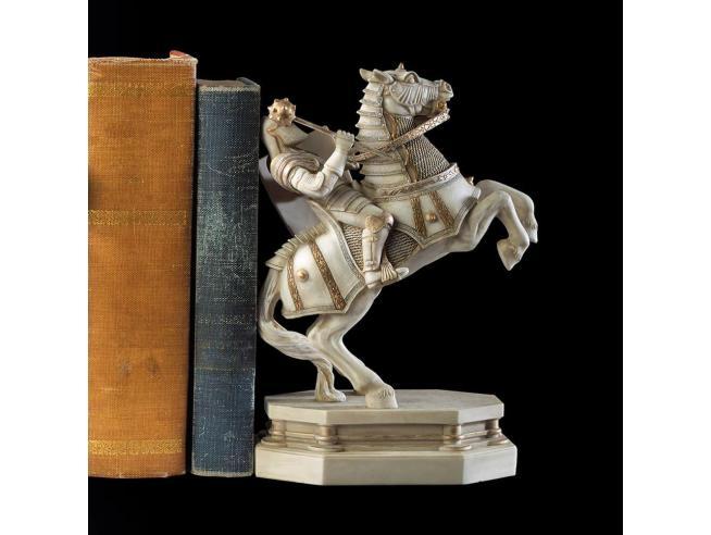 Harry Potter Fermalibri Statua / Pedina Cavaliere Bianco Noble Collection