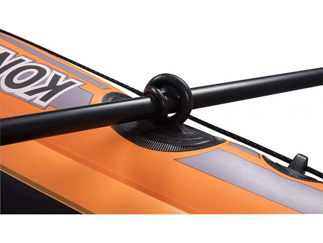 Set Canotto Kondor 1000 Gonfiabile con Remi 155 x 93 cm Bestway 61078