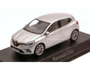 NOREV NV517585 RENAULT CLIO 2019 PLATINE SILVER 1:43 Modellino