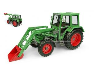 UNIVERSAL HOBBIES UH5251 FENDT FARMER 108LS WITH EDSCHA CABIN AND FRONT LOADER 4WD 1:32 Modellino