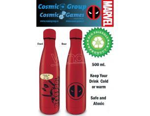 PYRAMID INTERNATIONAL DEADPOOL METAL DRINK BOTTLE Bottiglia